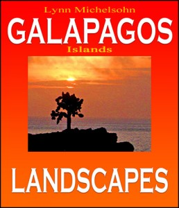 Galapagos Islands Landscapes ebook cover, Moses Michelsohn, Photographer